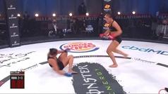 Polémica celebración: KO en el segundo round, insulto a la cara y baile 'hot'