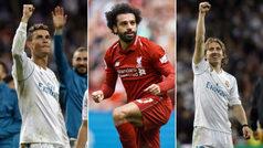 Cristiano Ronaldo, Modric y Salah luchan por ser el mejor jugador en Europa