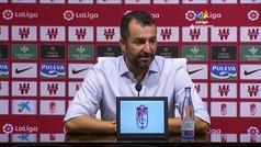 """Diego Martínez: """"Hemos mirado al Sevilla a los ojos, pero el error penaliza"""""""
