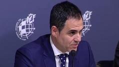 """Velasco Carballo: """"El arbitraje español es una roca"""""""