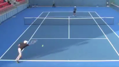 Historia negra del tenis: Bahmet  pierde 6-0 y 6-0 en 22 minutos... ¡perdiendo todos los puntos!