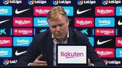 """Koeman: """"Si Messi no sigue tenemos dudas de quién va a marcar tantos goles..."""""""