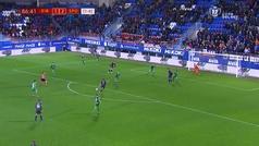 Gol de Charles (2-2) en el Éibar 2-2 Sporting
