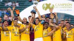 Tigres vs Santos: Con goleada, los felinos conquistan el Campeón de Campeones