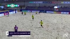 La brutal volea de Adri Frutos candidata al Puskas del fútbol playa
