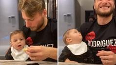 El hijo de Immobile saca una sonrisa a toda Italia: ojo a su reacción...