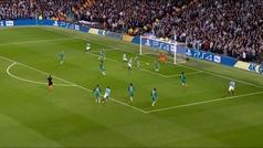 Gol de Sterling (3-2) en el Manchester City 4-3 Tottenham