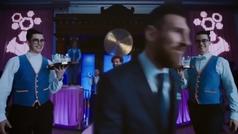 Messi reta a Pogba, Salah y Sterling en la nueva campaña de Pepsi