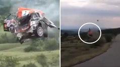 El accidente en un rally de Bulgaria que pone los pelos de punta: ¡el copiloto salió ileso!