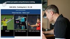 ¡Entrenamiento VAR! Los árbitros de la RFEF trabajan el videoarbitraje de forma telemática