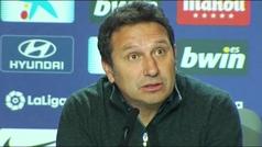 """Eusebio: """"Somos conscientes de lo que hemos conseguido y es algo muy bonito para el club"""""""