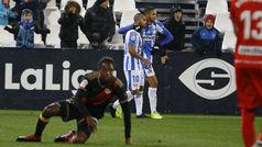 Copa del Rey (1/16, ida): Resumen y goles del Leganés 2-2 Rayo Vallecano