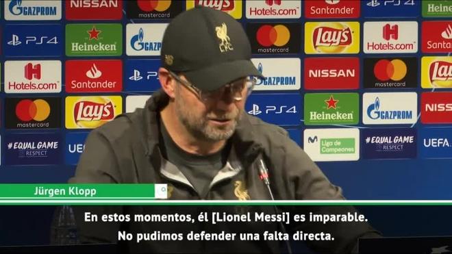 Mou atizó a Klopp y Guardiola tras el Barça-Liverpool