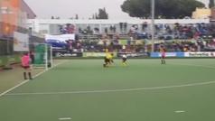 Carmen Cano anota el gol que dio la Liga al Club de Campo
