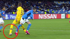 Piqué se lesionó en el tobillo en una mala caída en San Paolo