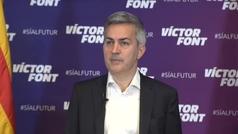 """Víctor Font insiste en el fichaje de Eric García: """"Con los intereses del club por delante todos sale"""
