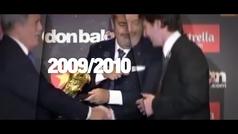 Messi conquista su sexta Bota de Oro