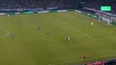 Gol de Sterling (2-3) en el Schalke 2-3 Manchester City