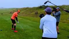 cord del mundo:  Un ex de la MLB juega 420 hoyos de golf en 24 horas