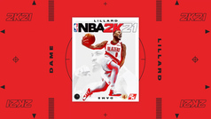 Damian Lillard, portada del NBA 2K21