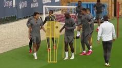 El PSG se entrena sin Icardi, que intenta solucionar sus problemas con Wanda Nara