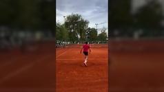 Djokovic no pierde el tiempo y ya entrena en Belgrado