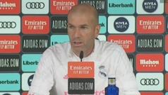 """Zidane: """"No estoy haciendo nada del futuro"""""""