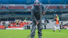 """Raúl Barrios """"El Estadio Azteca tendría que parar por meses"""""""