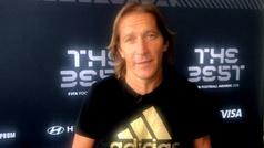 """Míchel Salgado: """"En un fútbol donde reina el gol, Modric nos representa al resto"""""""