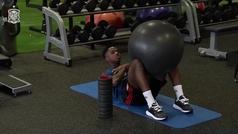 Gimnasio y futvoley: así fue el entrenamiento de Ansu Fati con la sub 21