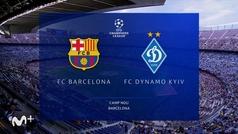 Champions League (Jornada 3): Resumen y goles del Barcelona 1-0 Dinamo de Kiev