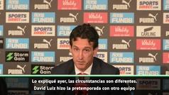 """Emery analiza el reparto de minutos a los nuevos: """"Ceballos necesita conocer la Premier"""""""