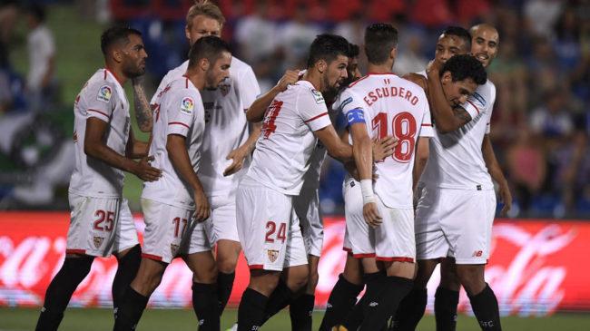 Resultado De La Liga Santander En Directo Getafe Vs Real: Getafe Vs Sevilla: Ganso Tapa Los Males Del Sevilla