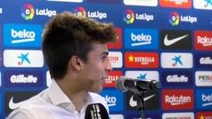 """Riqui Puig:""""Es un orgullo jugar en el mejor campo del mundo"""""""