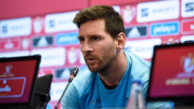 """Final Copa del Rey 2019: Messi: """"Lo que nos pasó en Liverpool fue lamentable""""   Marca.com"""