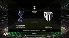 Conference League (J2): resumen y goles del Tottenham 5-1 NS Mura