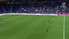 Gol de Maxi Gómez (1-1) en el Espanyol 1-1 Celta