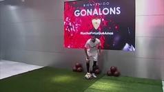 Gonalons, octava incorporación del Sevilla