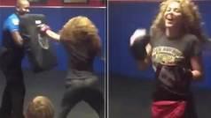"""Shakira, boxeadora: """"Su gancho de derecha no miente"""""""