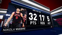 Nikola Vucevic empieza a justificar su fichaje por los Bulls