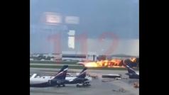 MX Al menos 13 muertos al arder un avión ruso debido a un rayo
