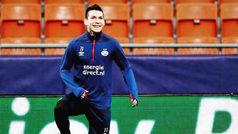 Hirving Lozano, de regreso con el PSV