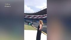 Shakira muestra su fiebre por Barranquilla 2018