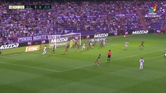 Gol de Ibai Gómez (0-1) en el Valladolid 0-1 Alavés
