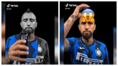 Vidal ya vacila a los tiffosi del Inter, ¿se habrá quitado su cresta?