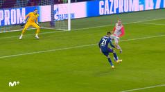 Gol de Yannick Carrasco (0-2) en el RB Salzburgo 0-2 Atlético de Madrid