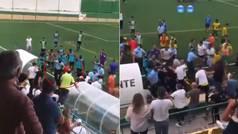 Brutal batalla campal en Portugal: nueve disparos al aire y un jugador encañonado
