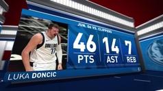 Luka Doncic, unos playoffs para la historia