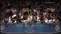 Keylor 'recuerda' su palmarés con el Madrid