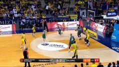 Euroliga. Resumen Fenerbahce 80-82 Zalgiris Kaunas
